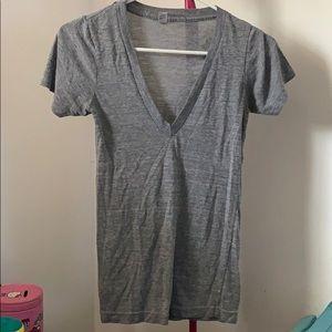 "American Apparel ""The Track Shirt ""V-neck Women's"